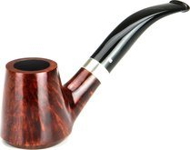 adorini Grosetto Briar Pipe Dark Brown