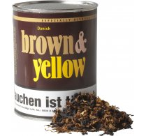 John Aylesbury Brown and Yellow Pipe Tobacco 200 g.