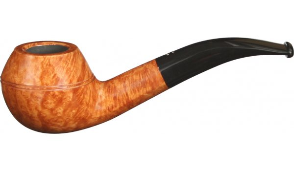 Savinelli Siena 673 Briarwood Pipe Orange Tones