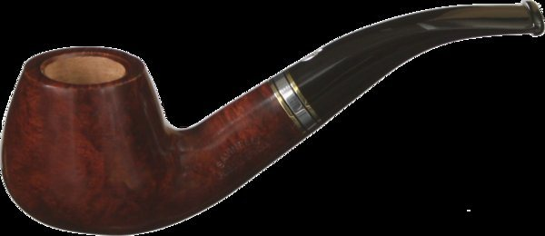 Savinelli Piazza di Spagna 645 Smoking Pipe Brown