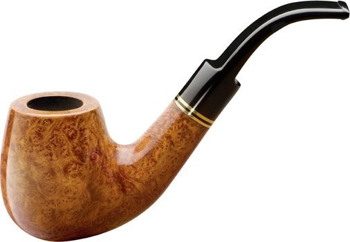 Sir John Shape 1 Briar Pipe Natural