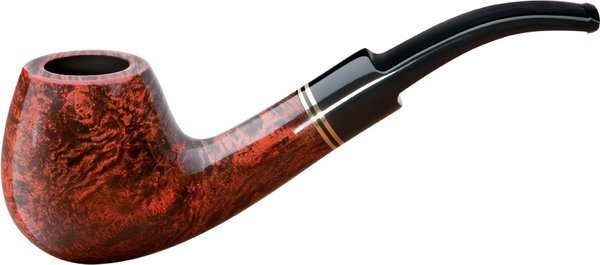 Sir John Shape 4 Briar Pipe Deluxe