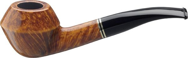 Sir John Shape 8 Tobacco Pipe Natural