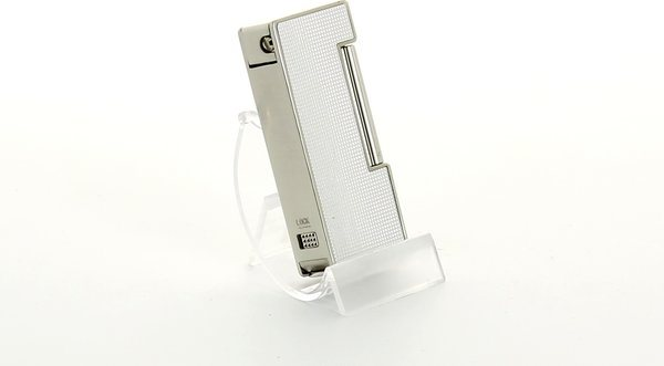 Sarome Pipe Lighter Silver Polished Aluminium