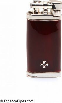 Sillem's Old Boy Pipe Lighter Dark Red