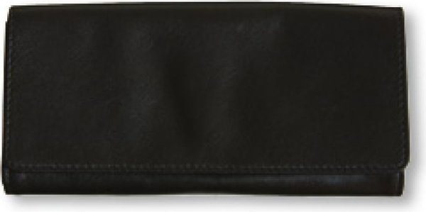 Genuine Leather Tobacco Pouch Black (holds 60g)
