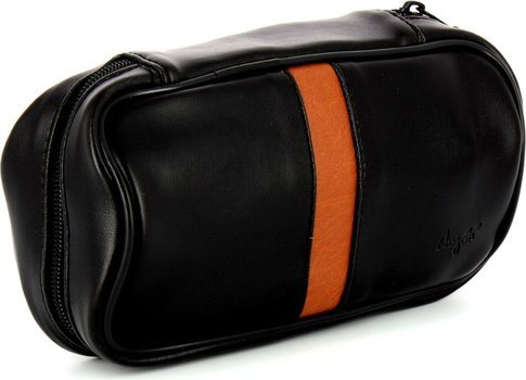 Small Pipe Bag Black / Brown (holds 2)