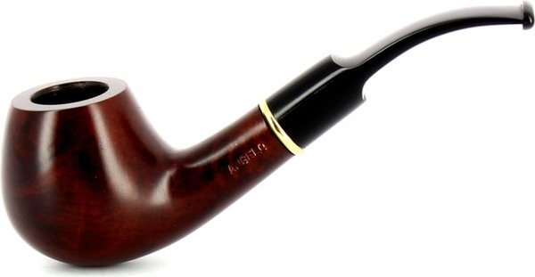 Milano Pipe acrylique marron