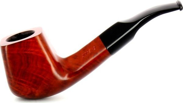Milano Pipe polie acrylique marron