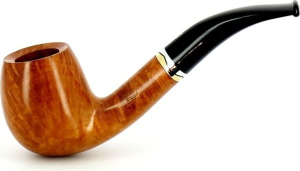 Savinelli Onda Smooth 677 KS Briar Wood Pipe Natural