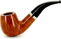 Savinelli Onda Smooth 616 KS Smoking Pipe Natural