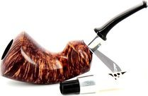 Jolly Roger Buccaneer Tobacco Pipe Contrast