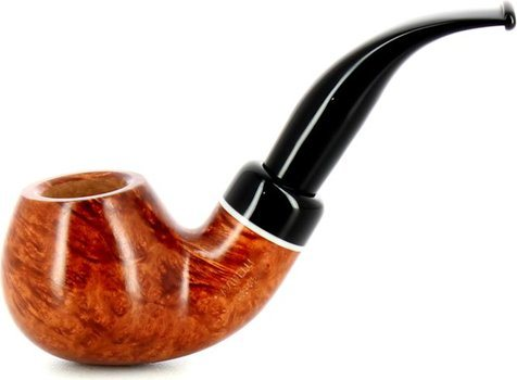 Savinelli Gaius 641 Smooth Smoking Pipe Natural