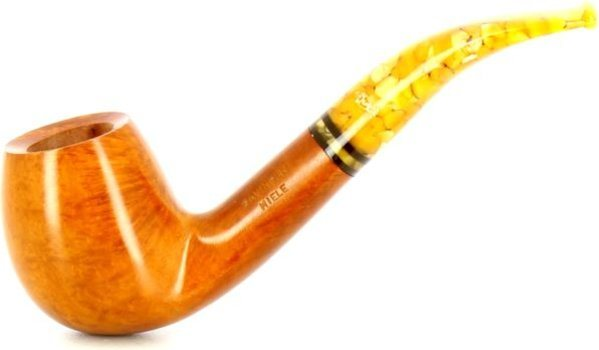 Savinelli Miele 677 KS Tobacco Pipe Orange Tones