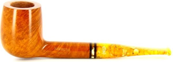 Savinelli Miele 128 Smoking Pipe Orange Tones