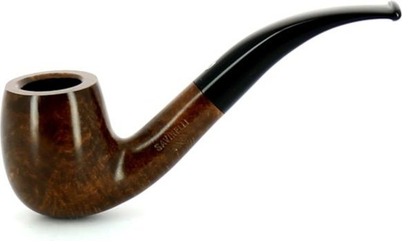 Savinelli One Smooth 601 Briar Pipe Brown