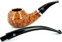 Rattray's Butcher Boy 23 Bent Briarwood Pijp Licht
