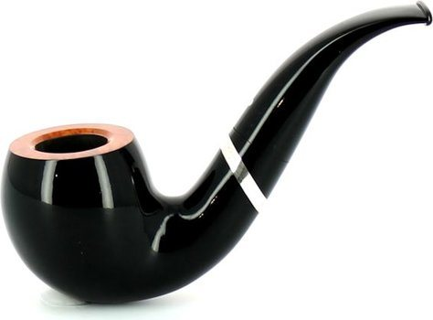 VAUEN Horst Lichter Pipe Collection 7 Pipe noire lisse