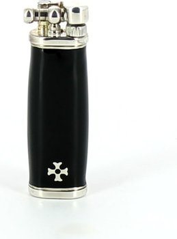 Sillem's Slim Boy Lighter Silver/Black