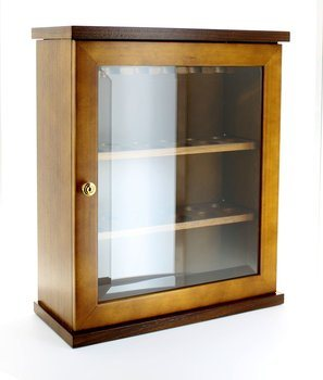 Teak Pipe Cabinet (holds 18 pipes)