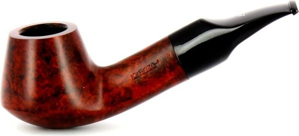 Lorenzo Cabernet 112 Beginner's Pipe Black/Brown
